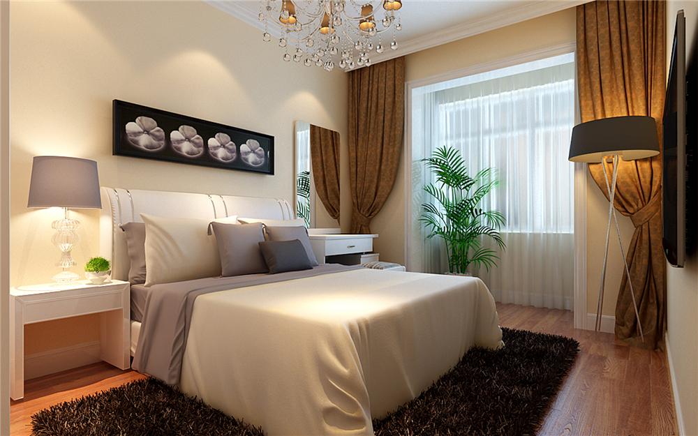 简约 二居 白领 收纳 80后 小资 卧室图片来自实创装饰完美家装在紫金新干线80平简约时尚案例的分享