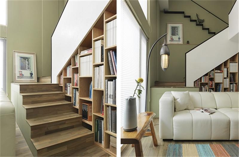 复试 现代简约 简洁明快 纯净 楼梯图片来自北京精诚兴业装饰公司在海棠公馆的分享