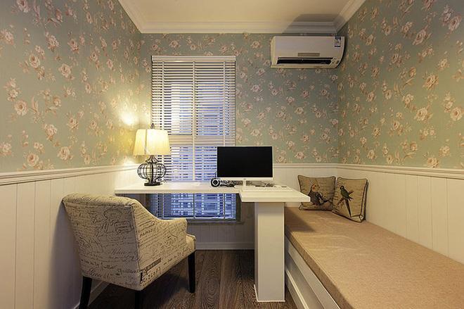 三居 书房图片来自四川岚庭装饰工程有限公司在8.2万半包三房二厅小美式风格的分享