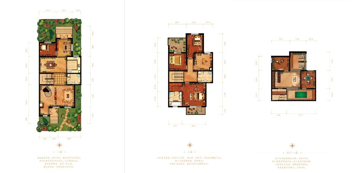 田园 别墅 户型图图片来自紫禁尚品设计师李擎在长海御墅美式乡村风格的分享