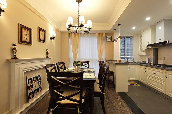 三居 餐厅图片来自四川岚庭装饰工程有限公司在8.2万半包三房二厅小美式风格的分享