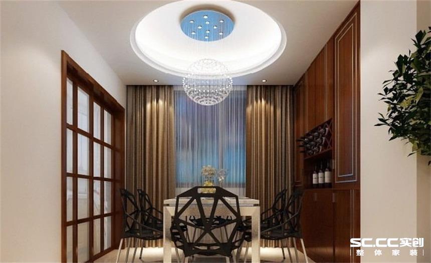 简约 二居 白领 收纳 80后 小资 餐厅图片来自实创装饰百灵在现代简约中的家110平米的分享