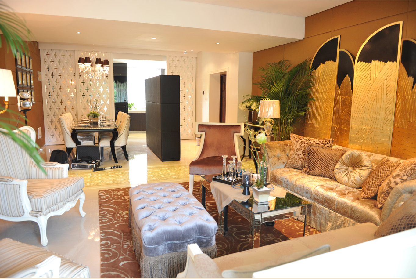 简约 新古典 别墅 白领 80后 客厅图片来自孟庆莹在新古典风格之原乡梦得惜诺的分享
