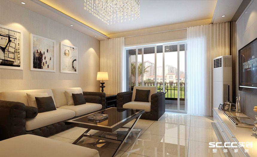 简约 二居 白领 收纳 80后 小资 客厅图片来自实创装饰百灵在美林君渡两居现代风格的分享