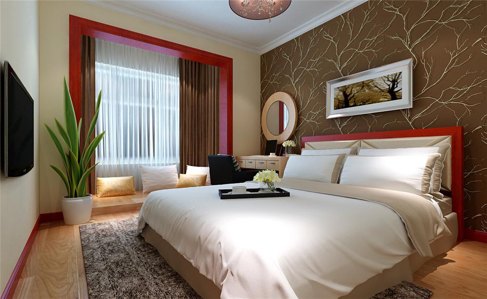 简约 二居 白领 收纳 80后 卧室图片来自实创装饰完美家装在顶秀金石家园80平简约时尚案例的分享