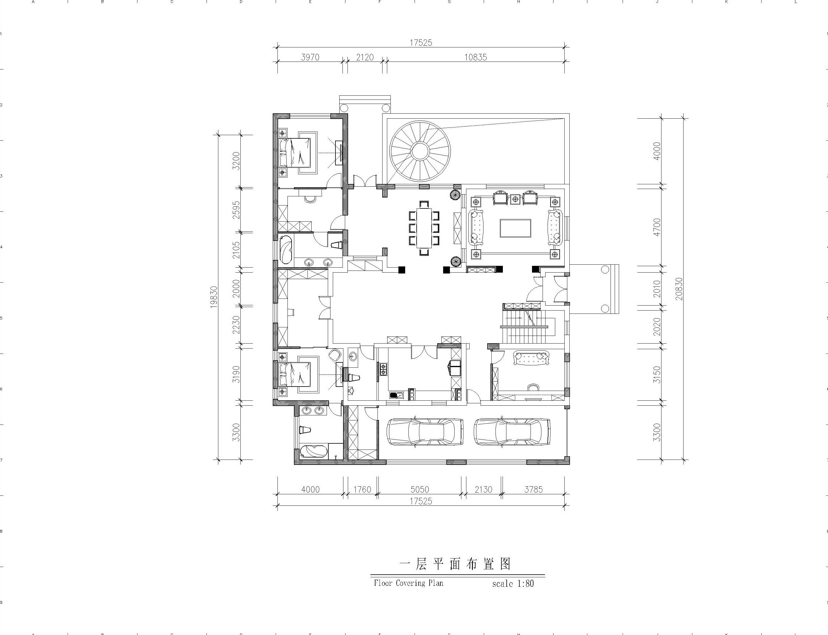 古典 别墅 典雅、端庄 时代特征 户型图图片来自北京精诚兴业装饰公司在桃花源2的分享