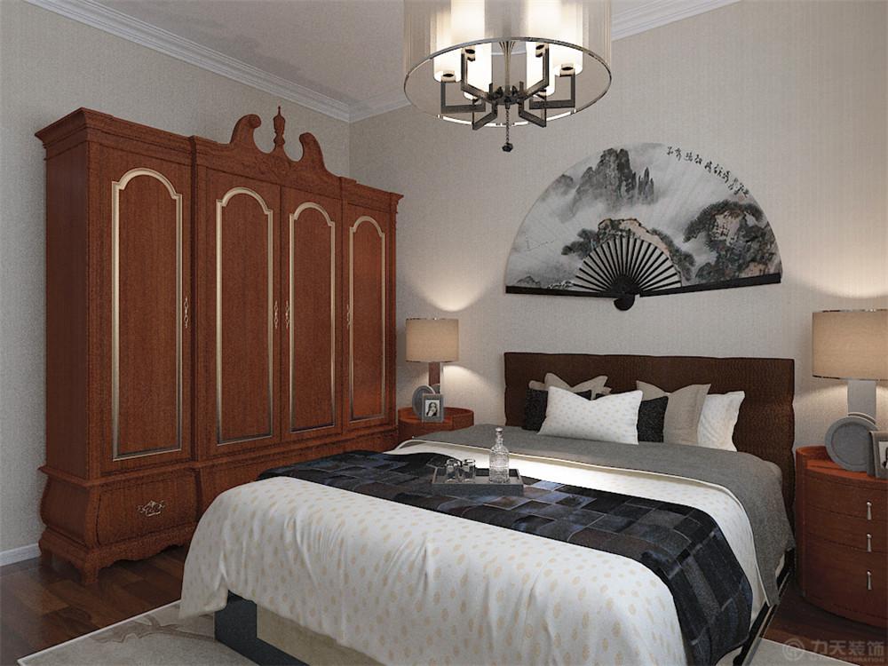 简约 田园 二居 三居 别墅 白领 旧房改造 小资 收纳 卧室图片来自阳光力天装饰在力天装饰-奥莱城96㎡的分享