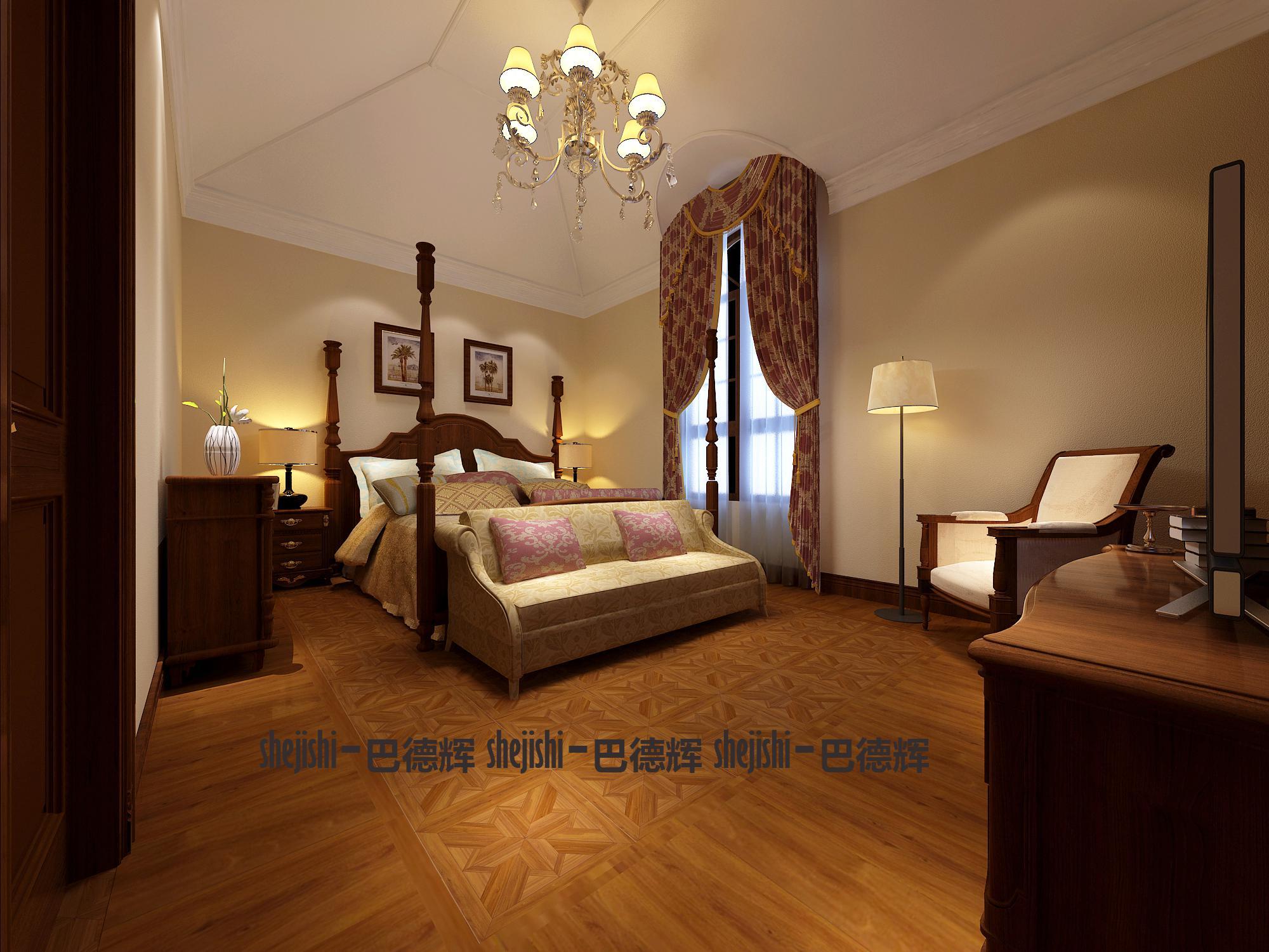 古典 别墅 典雅、端庄 时代特征 卧室图片来自北京精诚兴业装饰公司在桃花源2的分享