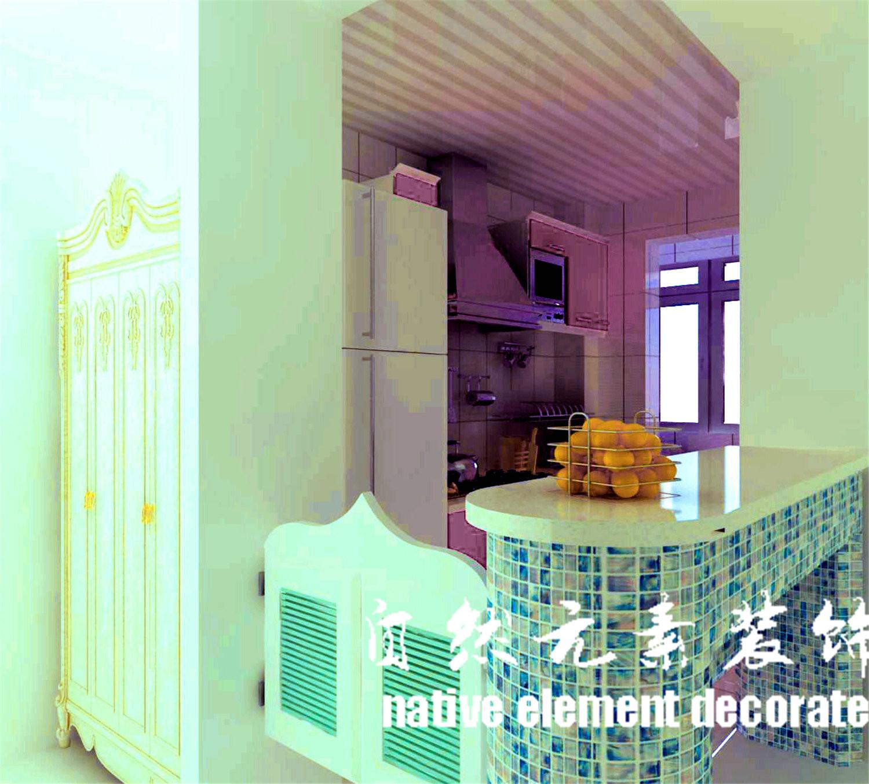 南山意境 地中海 二居 厨房图片来自自然元素装饰在南山意境地中海装修案例的分享