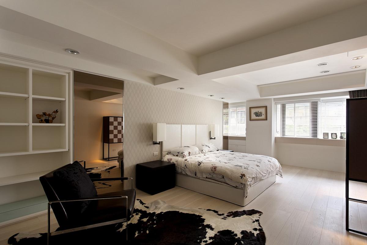 旧房改造 别墅 简约 卧室图片来自北京别墅装修-紫禁尚品在现代简约四居室装修设计的分享