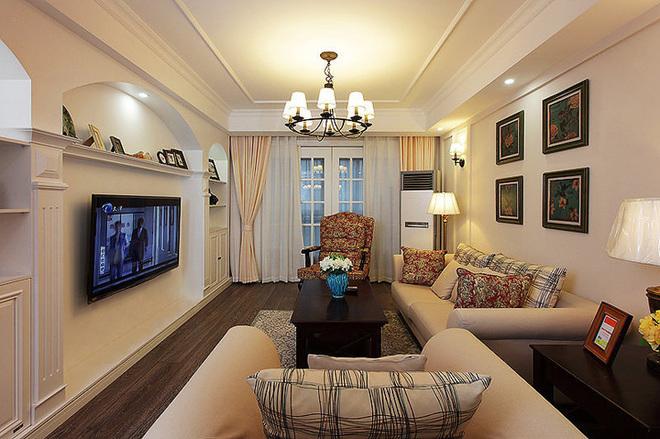 三居 客厅图片来自四川岚庭装饰工程有限公司在8.2万半包三房二厅小美式风格的分享