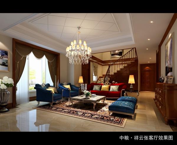 古典 现代 混搭 客厅图片来自四川新空间装饰在古典与时尚结合混搭风格的分享