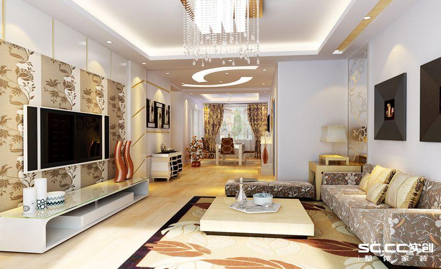 简约 三居 白领 收纳 80后 小资 客厅图片来自实创装饰百灵在温馨灵动的简约三居114平米的分享