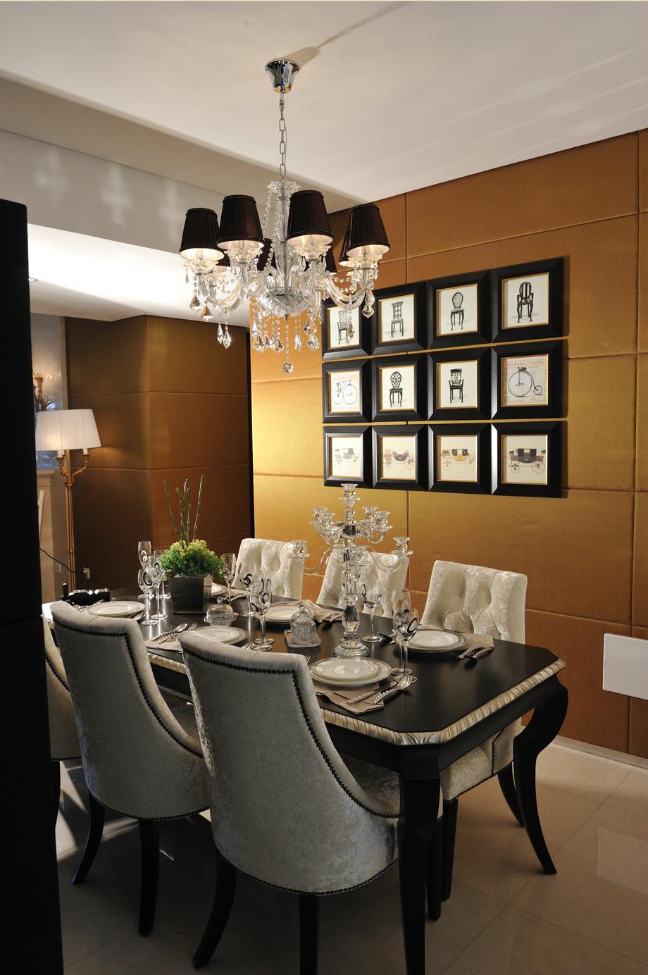 简约 新古典 别墅 白领 80后 餐厅图片来自孟庆莹在新古典风格之原乡梦得惜诺的分享