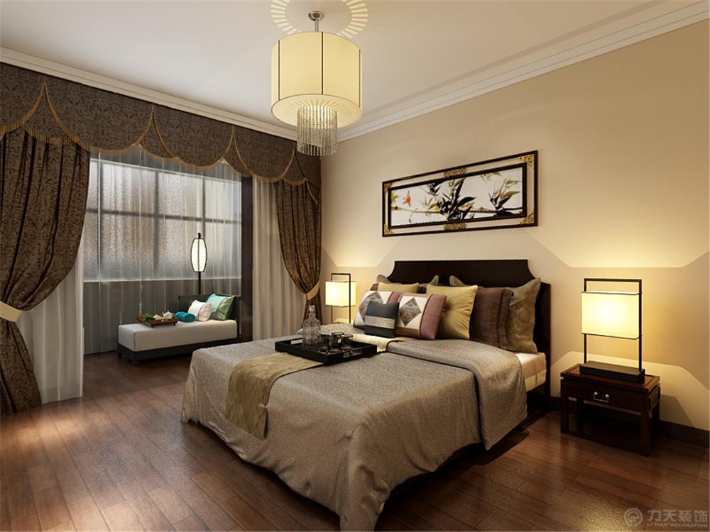 三居 中式 白领 收纳 80后 小资 卧室图片来自阳光放扉er在六纬路小区-100㎡-中式风格的分享
