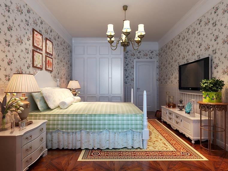 田园 红树西岸 自然舒适 卧室图片来自自然元素装饰在红树西岸自然田园风装修案例的分享