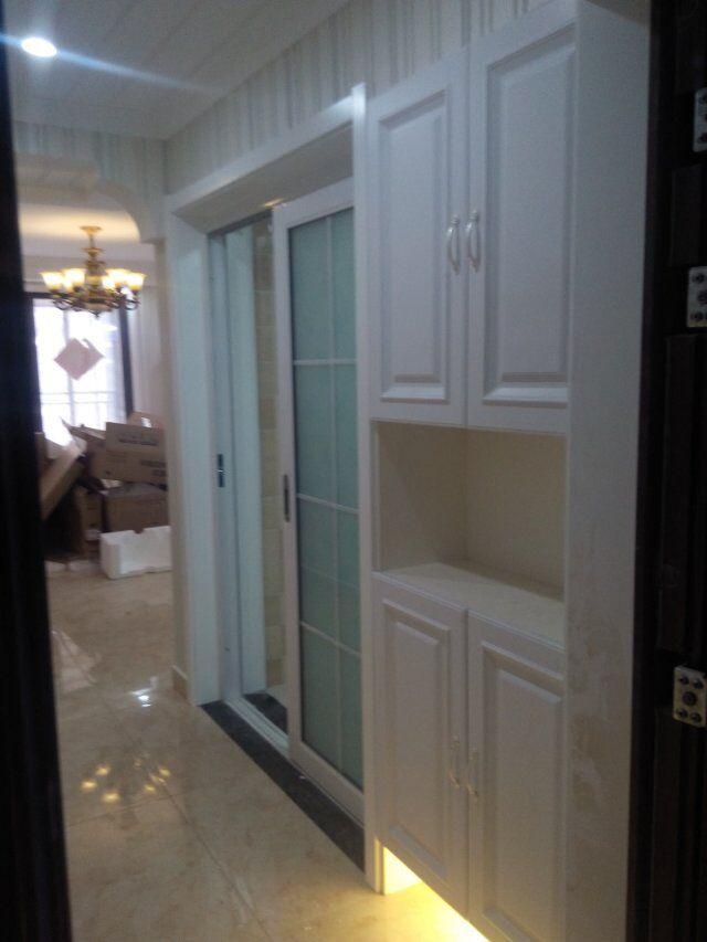 厨房图片来自蓝海方舟装饰在旭辉御府20#1402的分享