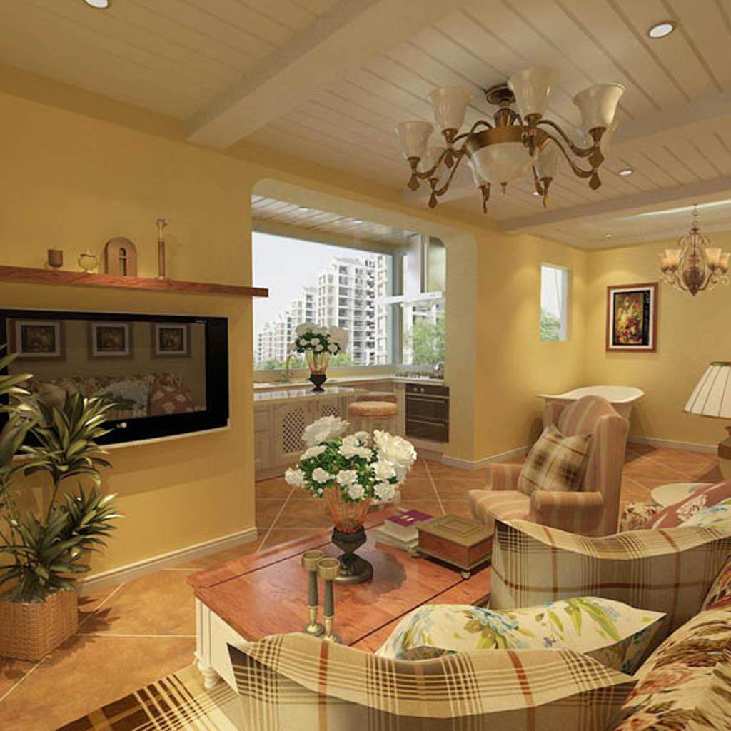 客厅图片来自沈阳新饰家装饰在印象新城56的分享