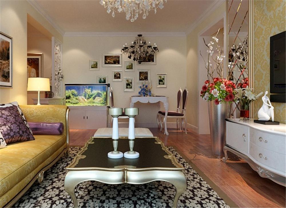 简约 二居 白领 收纳 80后 小资 客厅图片来自实创装饰完美家装在紫金新干线80平简约时尚案例的分享