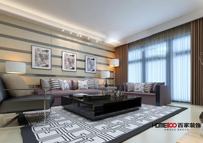 现代 二居 收纳 80后 小资 客厅图片来自百家装饰杨乐乐在万科香湖盛景 89平现代简约的分享