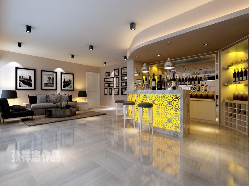 御景尚都 实创装饰 青岛装修 225平装修 欧式设计 客厅图片来自实创装饰集团青岛公司在御景尚都125+100平 大户型装修的分享