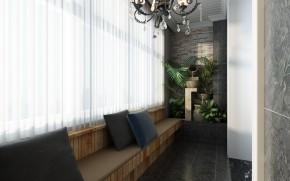 简约 现代 白领 小资 80后 阳台图片来自西安业之峰装饰在【绿地生态城】——现代简约的分享
