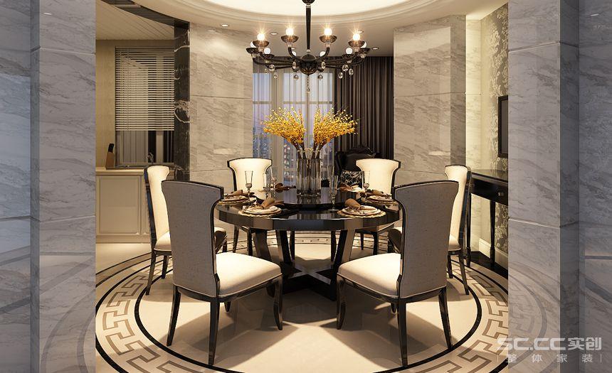 简约 欧式 三居 白领 收纳 80后 小资 餐厅图片来自实创装饰百灵在美景东方欧式典雅设计的分享