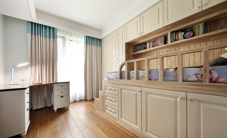 儿童房图片来自家装大管家在淡雅舒适 169平现代主义清爽4居的分享