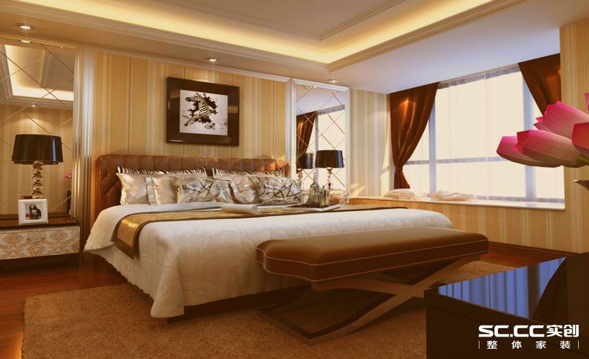 简约 欧式 三居 白领 收纳 80后 小资 卧室图片来自实创装饰百灵在低调奢华简欧风碧桂园的分享