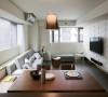 现代简约风格设计效果祥和,看上去明朗宽敞舒适的家,来消除工作的疲惫,忘却都市的喧闹。