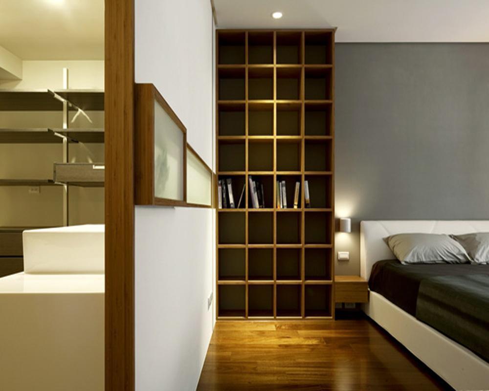 旧房改造 别墅 简约 卧室图片来自北京别墅装修-紫禁尚品在泰禾·北京院子现代简约的分享