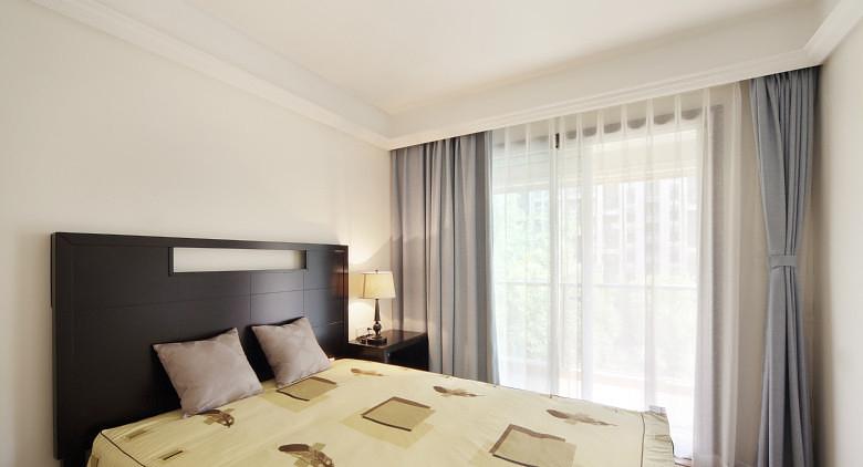 卧室图片来自家装大管家在淡雅舒适 169平现代主义清爽4居的分享