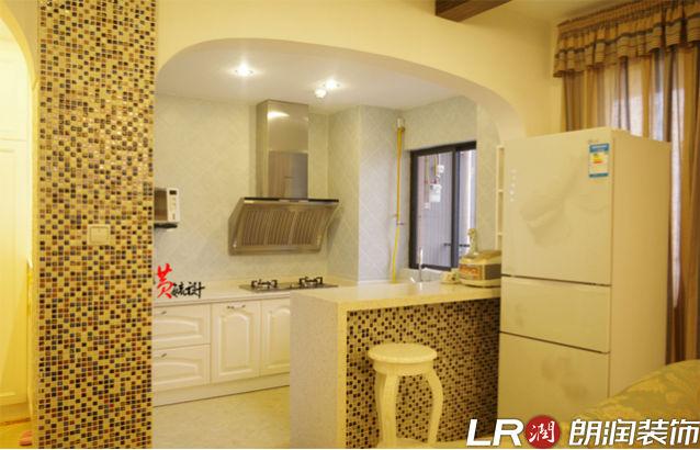 三居 地中海 简约 温馨 厨房图片来自朗润装饰工程有限公司在翡翠城5期混搭地中海的分享