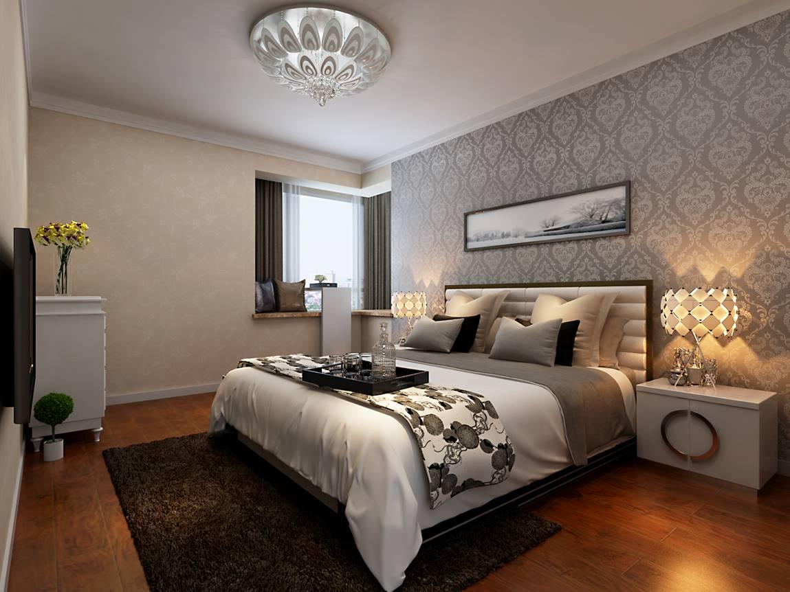 卧室图片来自天津科艺隆装饰在童年河-现代简约-130㎡的分享