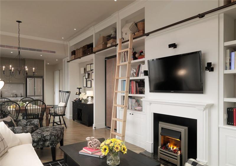 复试四居 现代简约 细节 客厅图片来自北京精诚兴业装饰公司在新怡家园的分享