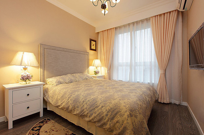 三居 卧室图片来自四川岚庭装饰工程有限公司在8.2万半包三房二厅小美式风格的分享