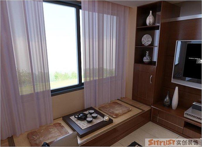 鑫苑现代城 中式 三居 家装 整体 客厅图片来自郑州实创装饰啊静在鑫苑现代城110平现代中式三居的分享