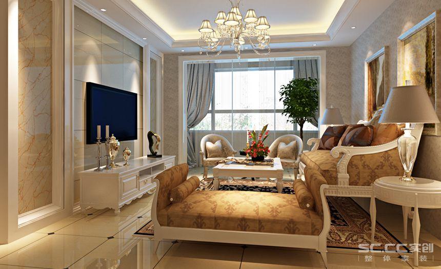 简约 欧式 三居 白领 收纳 80后 小资 客厅图片来自实创装饰百灵在银领国际奢华典雅欧式风格的分享