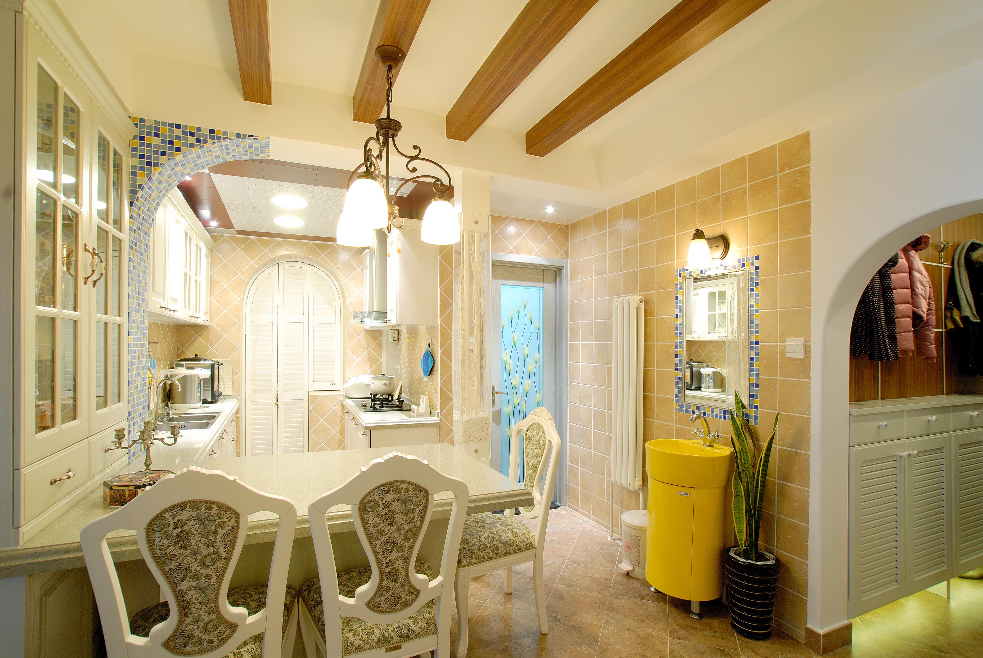 欧式 三居 白领 收纳 旧房改造 80后 小资 餐厅图片来自今朝老房专家在简欧 风格的分享