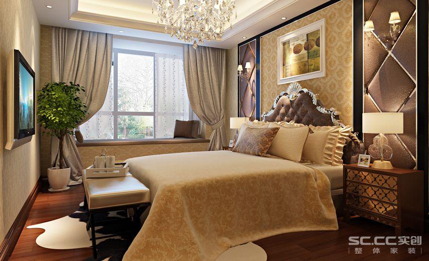 简约 欧式 三居 白领 收纳 80后 小资 卧室图片来自实创装饰百灵在银领国际奢华典雅欧式风格的分享