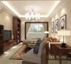在新中式装饰风格的住宅中,空间装饰多采用简洁、硬朗的直线条,有些家庭还会采用具有西方工业设计色彩的板式家具与中式风格的家具搭配使用。直线装饰在空间中的使用,不仅反映出现代人追求简单生活的居住要求。