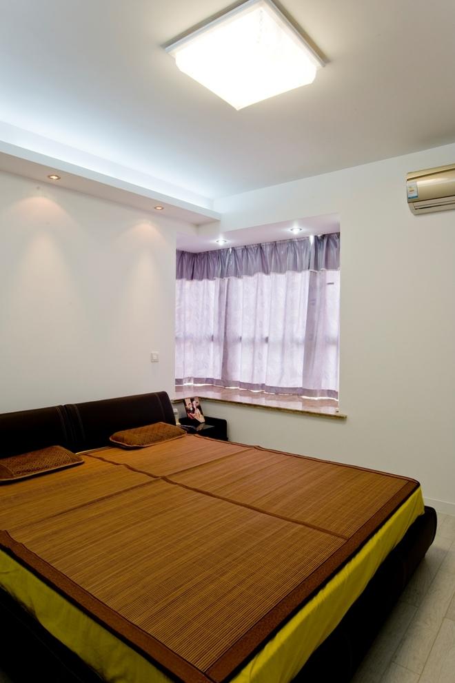 二居 简约 卧室图片来自四川岚庭装饰工程有限公司在绿地468现代两居的分享