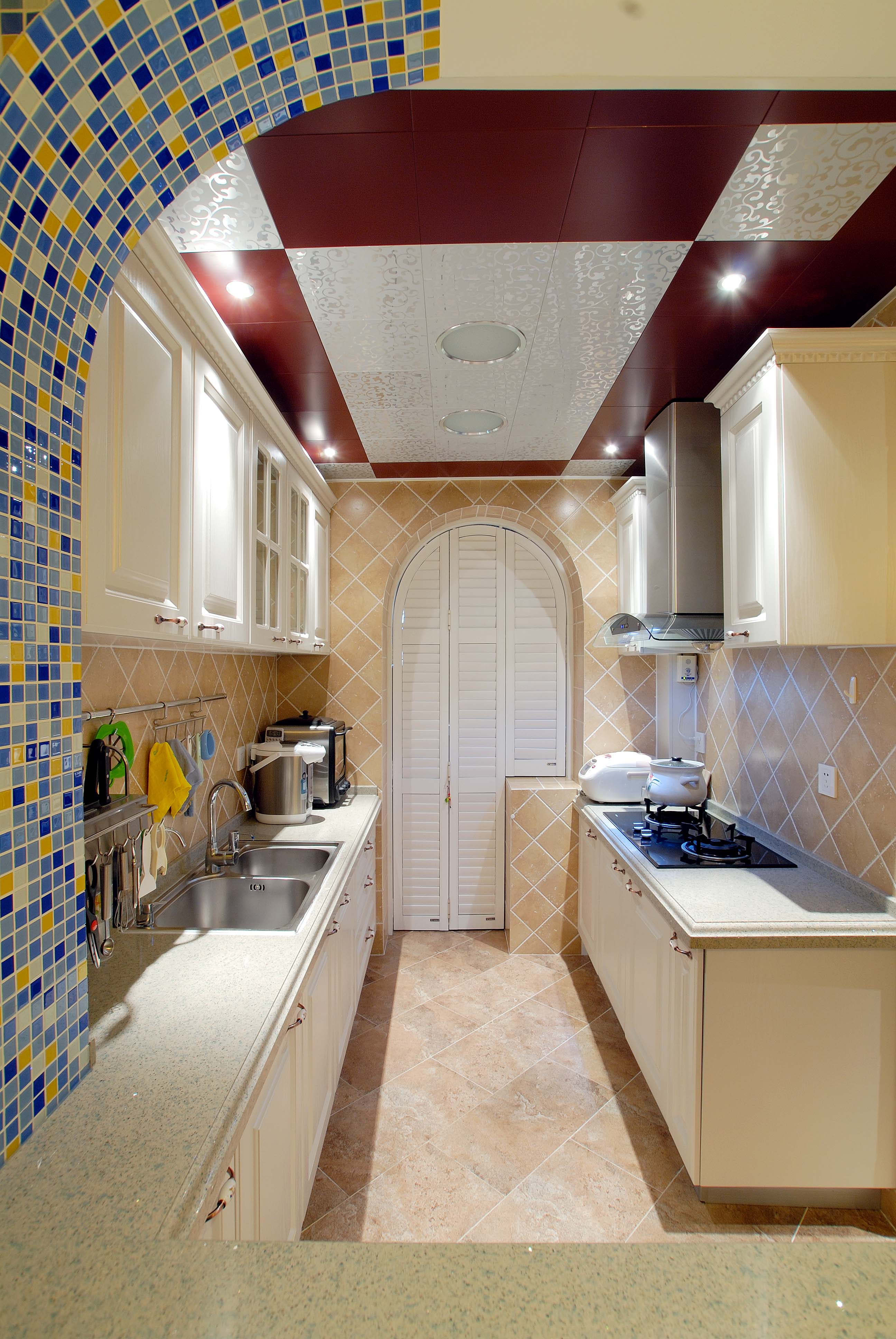 欧式 三居 白领 收纳 旧房改造 80后 小资 厨房图片来自今朝老房专家在简欧 风格的分享