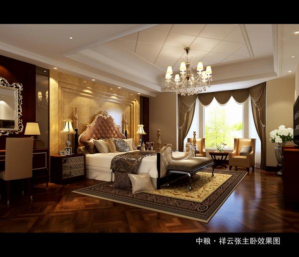 古典 现代 混搭 卧室图片来自四川新空间装饰在古典与时尚结合混搭风格的分享