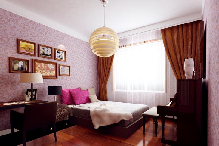 日升装饰 西安日升装 新中式效果 装修公司 卧室图片来自西安日升装饰在海泊香庭新中式的分享