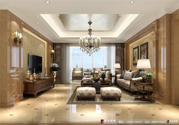 中粮祥云客厅细节效果图----高度国际装饰设计