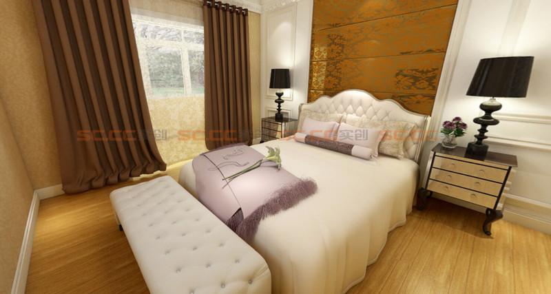 欧式 实创陈浩 卧室图片来自南京实创装饰陈浩在欧式典雅 沁人心脾的分享