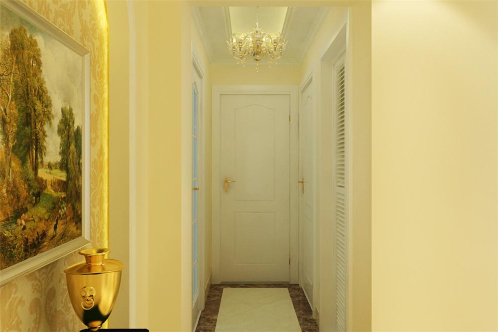 三居 白领 收纳 旧房改造 80后 小资 玄关图片来自实创装饰完美家装在星河城二区130平简欧风格案例的分享