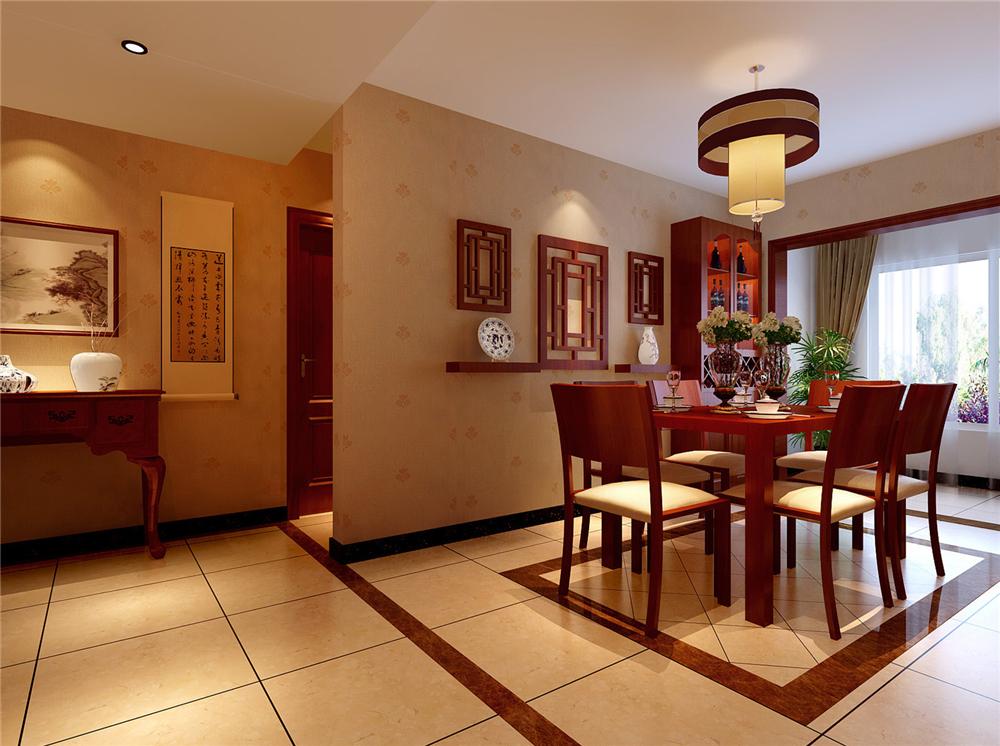 白领 收纳 80后 小资 餐厅图片来自实创装饰完美家装在北京华贸城156平简中风格混搭的分享