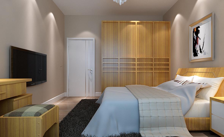 简约 二居 白领 收纳 80后 小资 卧室图片来自实创装饰完美家装在红杉公馆90平简约时尚案例赏析的分享